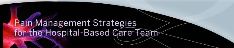 Pain Management Strategies for the Hospital-Based Care Team